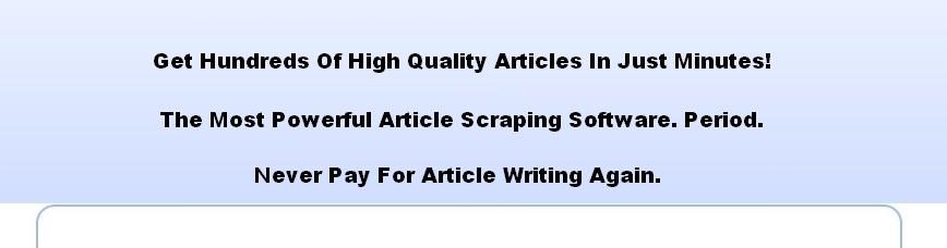 Article pro